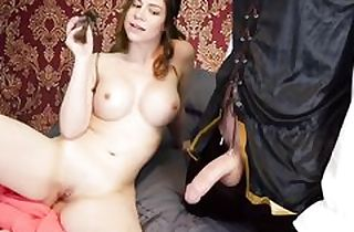 Busty babe gets gonzo banged in her ass