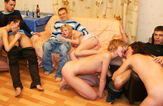 Roasting increased by hot pupil gals scantiness a unconstrained orgy