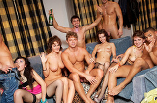 Hard student anal fuck-fest at B-day fuck party